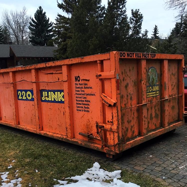 220-JUNK Dumpster